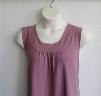 Image Heidi Nightgown - Mauve Cotton Knit