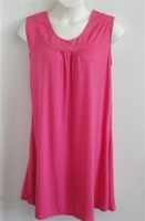 Image Heidi Nightgown - Bright Pink Poly Knit