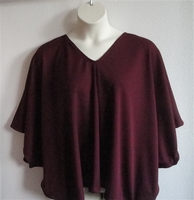 Image Kiley Side Opening Shirt - Burgundy Wickaway