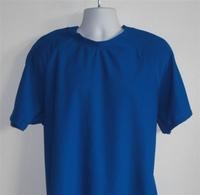 Image Unisex/Men Shirt (Men's Sizes) - Royal Blue Wickaway