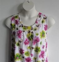 Image Sara Shirt - Pink Floral Cotton Knit