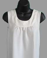 Image Sara Shirt - Creamy White French Terry