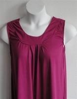 Image Sara Shirt - Fuchsia Rayon Knit
