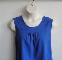 Image Sara Shirt - Royal Blue Cotton Knit