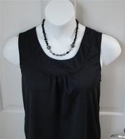 Image Sara Shirt - Black Tencel Knit
