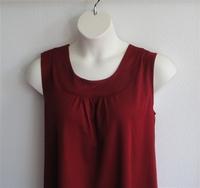 Image Sara Shirt - Dark Red Wickaway
