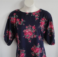 Image Jan Sweater - Navy/Pink Rose Sweater Knit