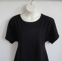 Image Tracie Shirt - Black Cotton Knit
