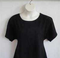Image Tracie Shirt - Black Cotton Knit