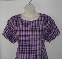 Image Tracie FLANNEL Shirt - Purple Plaid