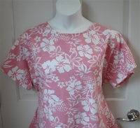 Image Tracie Shirt - Pink Tropical French Terry