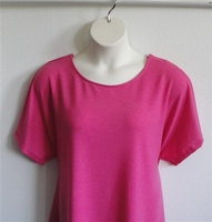 Image Tracie Shirt - Bright Pink French Terry