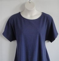 Image Tracie Shirt - Denim Navy Cotton Knit