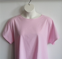 Image Tracie Shirt - Light Pink Cotton Knit