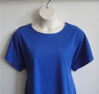 Image Tracie Shirt - Royal Blue Cotton Knit