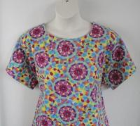 Image Tracie FLANNEL Shirt - Kaleidoscope Tie Dye