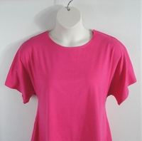 Image Tracie Shirt - Bright Pink Cotton Knit