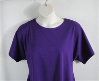 Image Tracie Shirt - Purple Cotton Knit