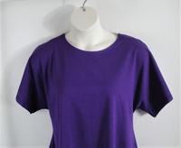 Image Tracie Shirt - Purple Cotton Knit