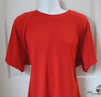 Image Unisex/Men Shirt (Men's Sizes) - Red Rayon Knit