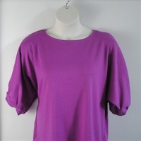 Image Libby Shirt - Lilac Purple Cotton Rib Knit