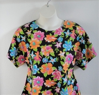 Image Tracie Shirt - Multi Neon/Black Tropical Cotton Knit
