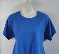Image Tracie Shirt - Royal Blue Cotton Knit (XS only)