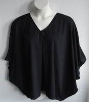 Image Kiley Side Opening Shirt - Black Wickaway (S & L Only)