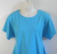 Image Tracie Shirt - Sky Blue Cotton Knit