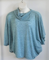 Image Emily Side Opening Sweater/Camisole COMBINATION - Teal Heather