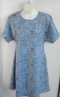 Image Orgetta FLANNEL Nightgown - Blue Dog
