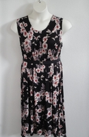 Image Dani Dress - Mauve Black Floral