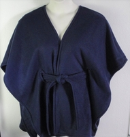Image Shandra FLEECE Cape - Navy