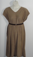 Image Randi Dress - Tan Micro Fiber Knit