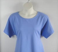 Image Tracie Shirt - Light Blue French Terry