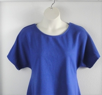 Image Tracie Shirt - Royal Blue French Terry