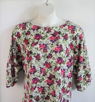 Image Jan Sweater - Pink Floral Sweater Knit