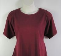 Image Tracie Shirt - Burgundy Cotton Knit