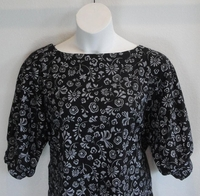 Image Libby Shirt - Black/Gray Floral (M & XL Only)