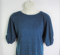 Image Jan Sweater - Teal Blue Mohair Sweater Knit