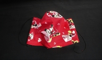 Image Red Heart M. Mouse Face Mask