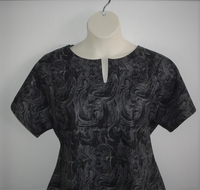 Image Gracie Shirt - Black/Gray Marble