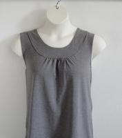 Image Sara Shirt - Gray Cotton Knit