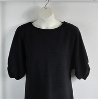 Image Libby Shirt - Black Polartec Fleece