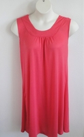 Image Heidi Nightgown - Salmon Rayon Knit