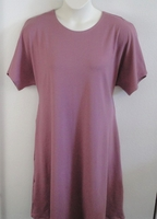 Image Orgetta Nightgown - Mauve Pink Cotton Knit